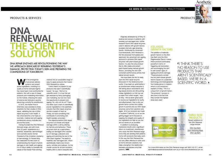 DNA Renewal - Cosbeauty April 2018