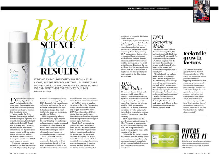 DNA Renewal - Cosbeauty May 2018