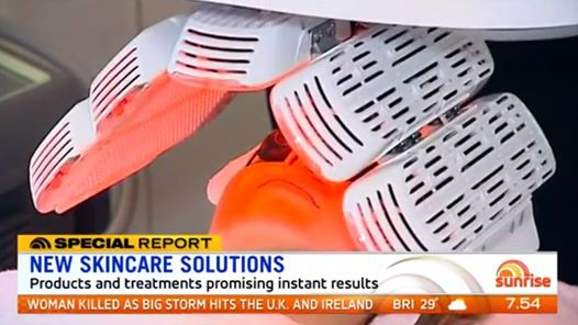 Did you see our Healite II on Sunrise yesterday covering skincare treatments tha...
