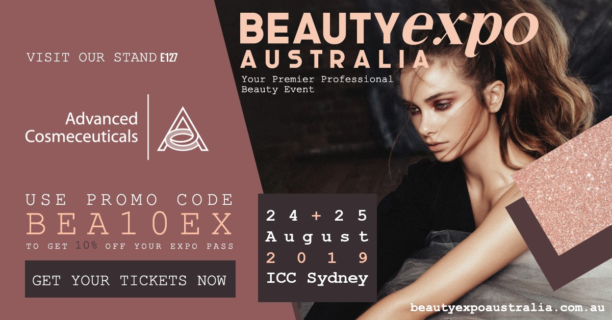 Hope to see you at Beauty Expo Australia! We'll be there on Stand E127! #med...