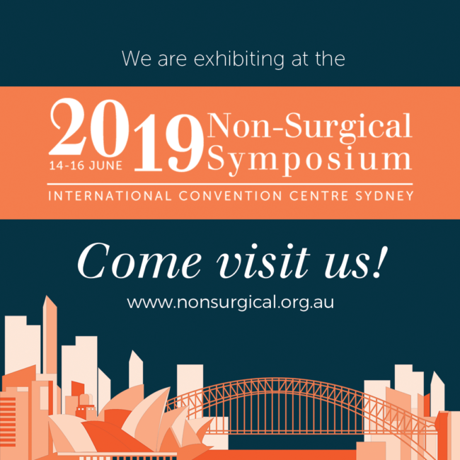Looking forward to seeing you all at Non-Surgical Symposium next week. Swing b...