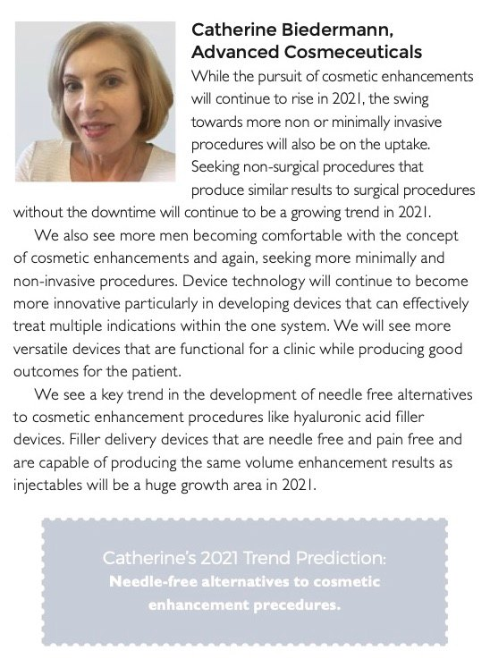 Our Managing Director, Catherine Biedermann shares her 2021 Trend Predictions ...