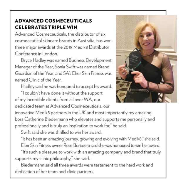 Thank you Professional Beauty Magazine for celebrating our triumphs with us! F...