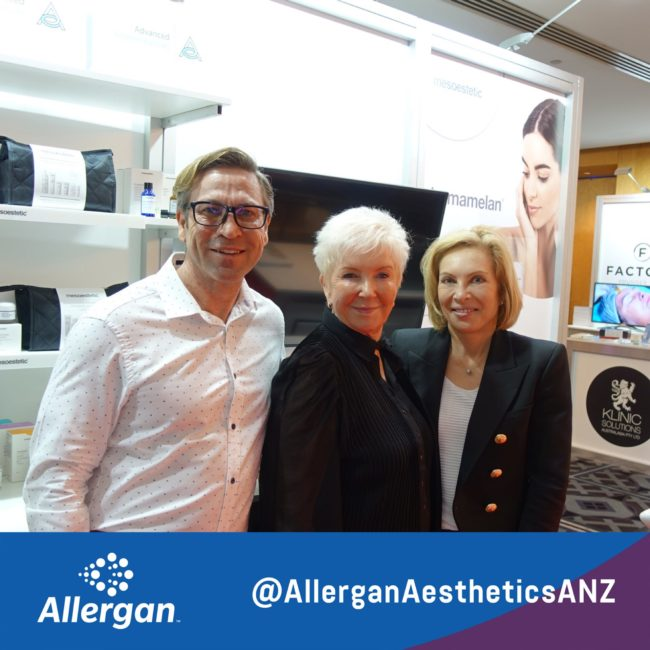 The Advanced Cosmeceuticals team are primed and ready at Aesthetics Australia!...