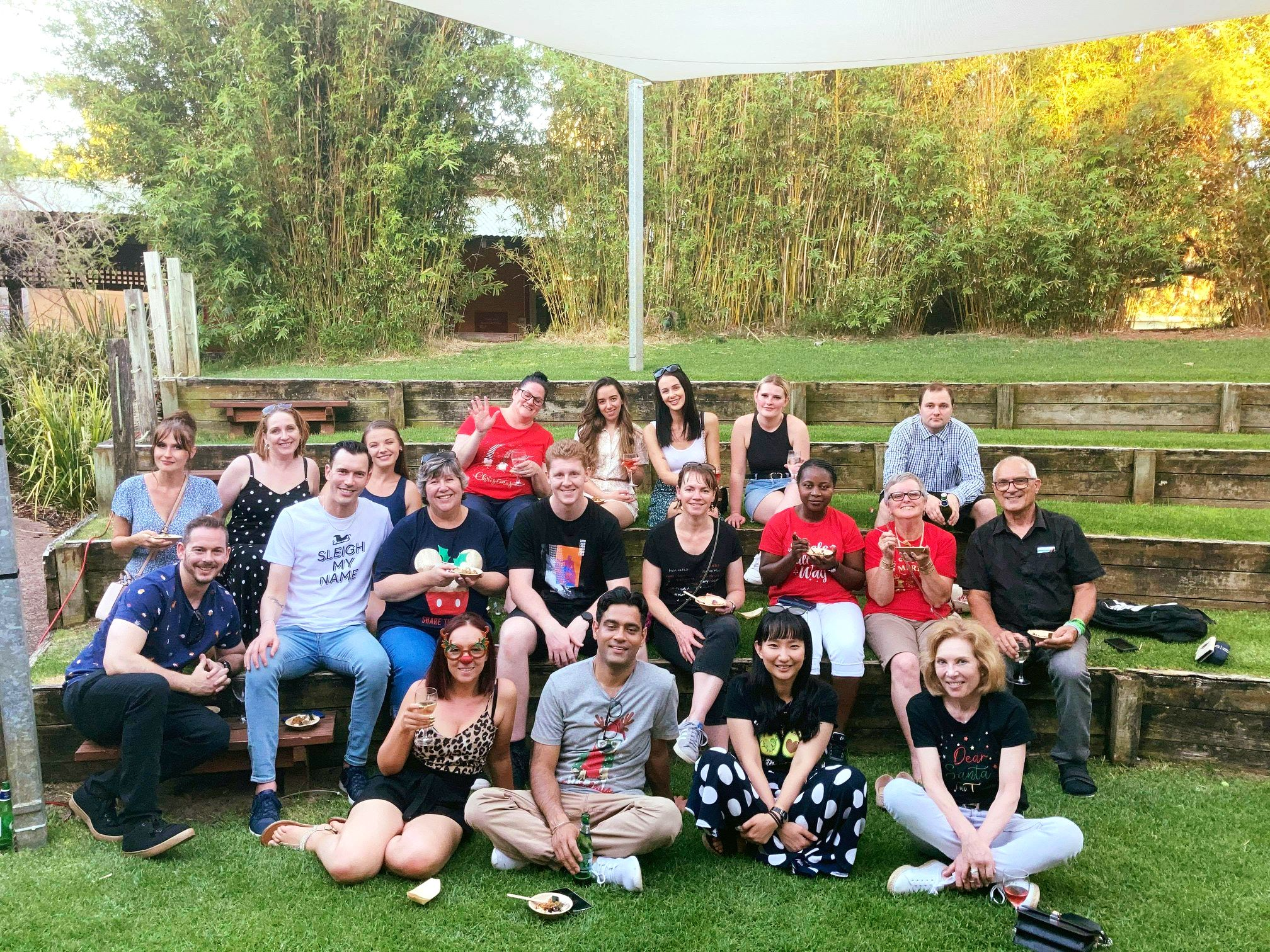 They work hard, they play hard! The Advanced Cosmeceuticals team celebrating t...