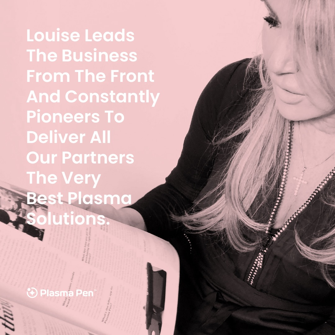 We are proud to announce that we are partnering with Plasma Pen by Louise Walsh ...