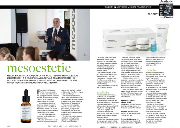 mesoestetic - AMP - Issue12